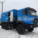ППУ 1600/100 на базе Урал 5557 (Бескапотный)