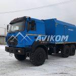ППУ 1600/100 на базе бескапотного Урал 5557