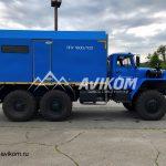 ППУ производительностью 1600/100 на базе Урал 4320