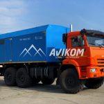 ППУ производительностью 1600/100 на базе КамАЗ 43118