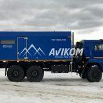 ППУ на базе КамАЗ 43118 производительностью 1600/100