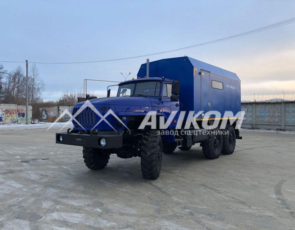 ППУ 1600/100 на базе капотного Урал 4320