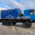 ППУ 1600/100 на базе Урал 5557 Бескапотная кабина