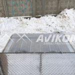 Фургон для перевозки взрывчатых веществ на базе КамАЗ 43118 (гидроборт)