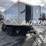 Жилой модуль на базе КамАЗ 43118
