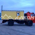 Аварийно-спасательный автомобиль на базе КамАЗ 43502