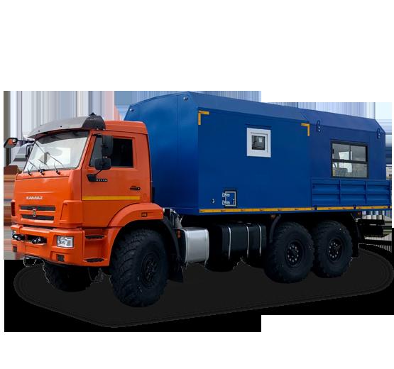 ПАРМ с модулем Epicroc на базе КамАЗ 43118