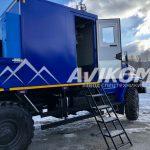 ПАРМ с КМУ на базе Урал NEXT